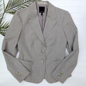 Limited Dove Gray Double Button Blazer